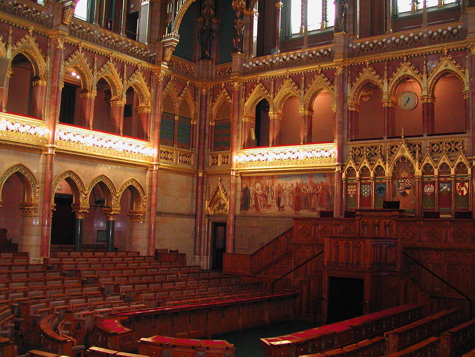 Budapest Parliament Conference Hall opt