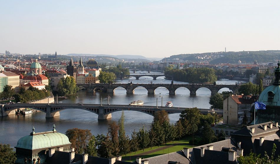 Vltava in Prague opt