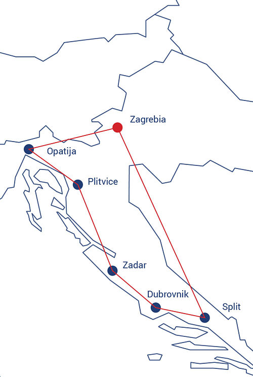 mapa croatia opt